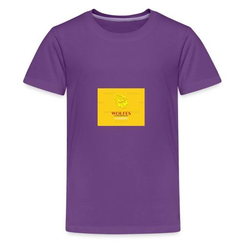 wolfes - Teenager premium T-shirt