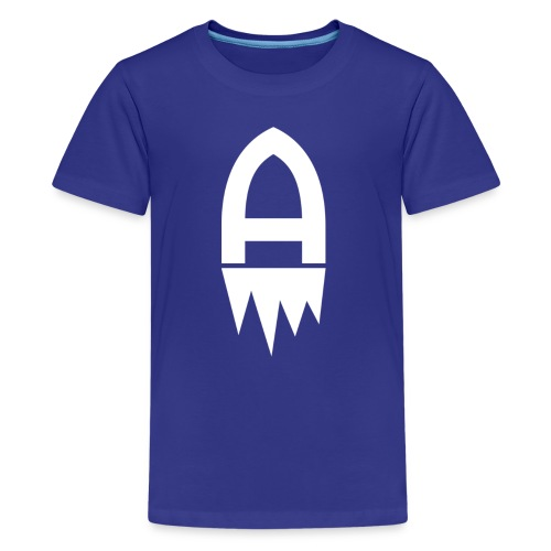 Adelite - Weisses Logo - Teenager Premium T-Shirt