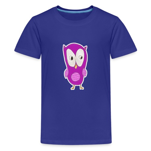 Astrids ugle - Teenager premium T-shirt