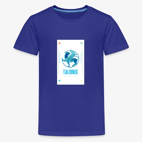 blue copper talionis - Teenager premium T-shirt