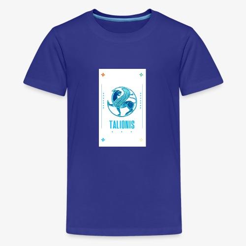 BLUE TALIONIS - Teenager premium T-shirt