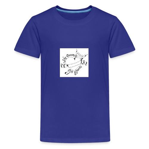 queen of hearts - Teenager Premium T-Shirt