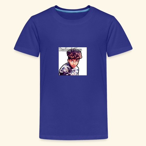 Sterling's Here - Teenage Premium T-Shirt