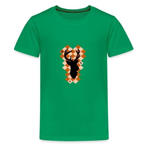 DeerSquare - Teinien premium t-paita