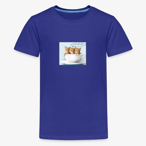 gatito - Camiseta premium adolescente