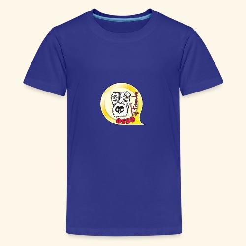 Osso4Friends official logo - Maglietta Premium per ragazzi