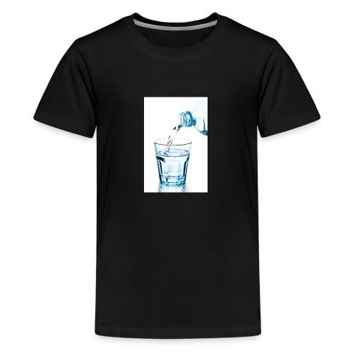 Glas-water-jpg - Teenager Premium T-shirt