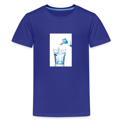 Glas-water-jpg - Teenager Premium T-shirt