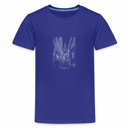 St. Goar – Stiftskirche Oberstraße - Teenager Premium T-Shirt