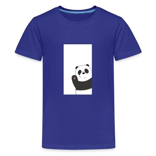 We bare bears panda design - Teenager Premium T-shirt