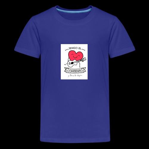 Tengo el corazón contento - Camiseta premium adolescente