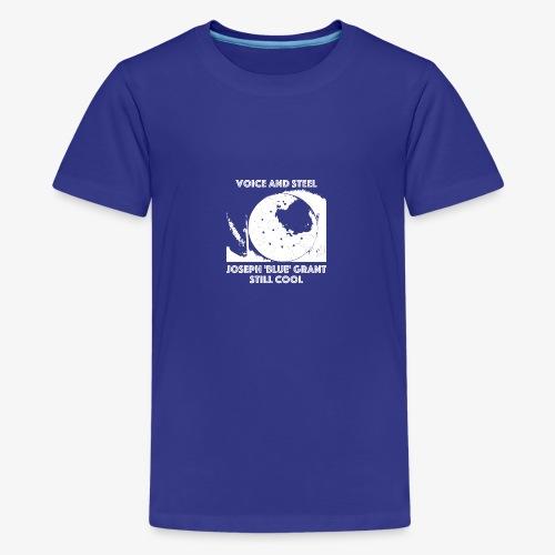 VOICE AND STEEL / STEEL DRUM - Teenager Premium T-Shirt