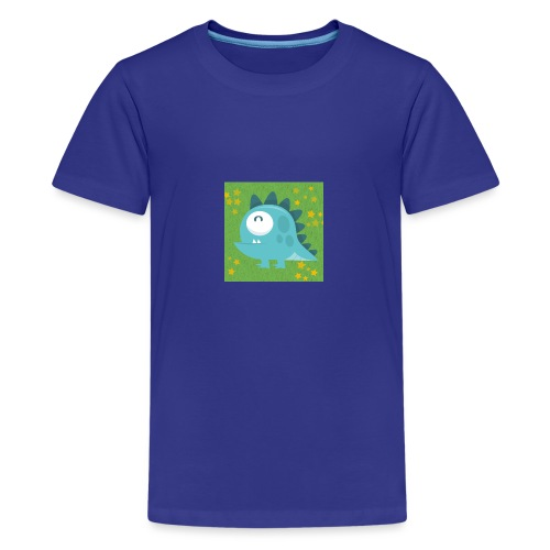 Dino - Teenager Premium T-Shirt
