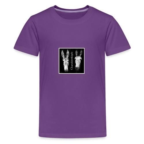 Eselköpfe_Charakterköpfe - Teenager Premium T-Shirt