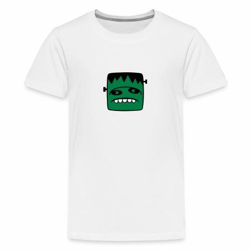 Fonster pur weißer Rand - Teenager Premium T-Shirt