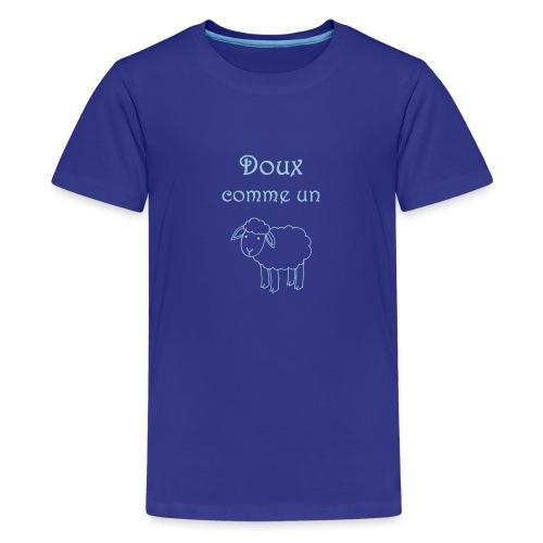 doux-comme-un-agneau-2 - T-shirt Premium Ado