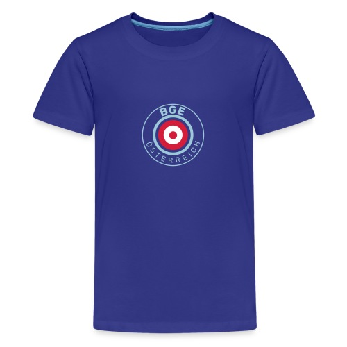 BGE in Österreich mit Fahne - Teenager Premium T-Shirt