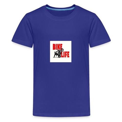 KEEP IT BIKELIFE - Teenage Premium T-Shirt
