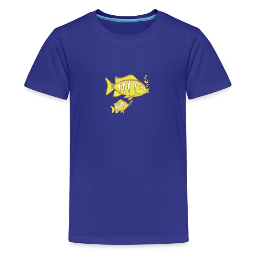 Fish Family - Teenager Premium T-Shirt