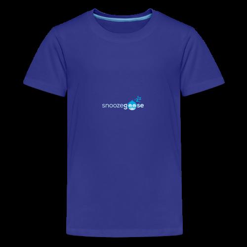 snoozegoose #01 - Teenager Premium T-Shirt