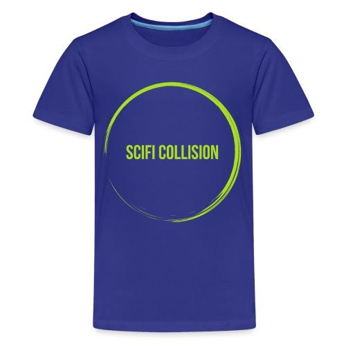 Lime Green SC Logo - Teenage Premium T-Shirt