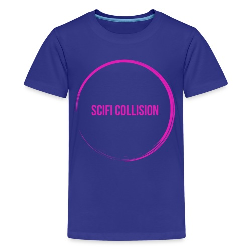 Pink Logo - Teenage Premium T-Shirt