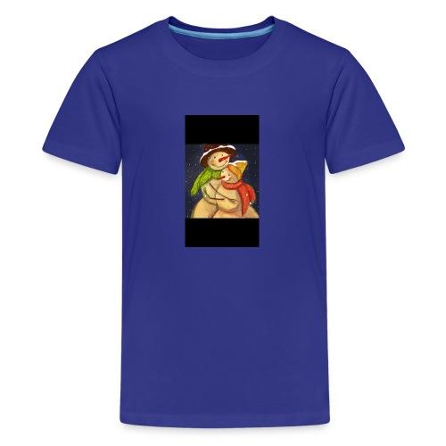 Amor de navidad - Camiseta premium adolescente