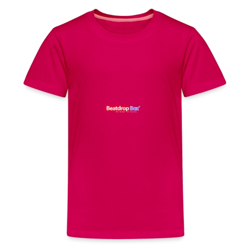 beatdropbox logo final and hires - Teenager Premium T-shirt