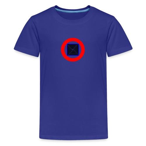 mosique' logo inverted - Teenage Premium T-Shirt