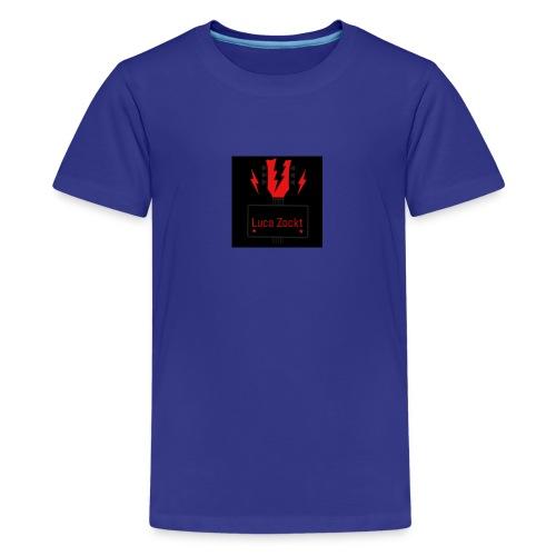 Luca zockt - Teenager Premium T-Shirt