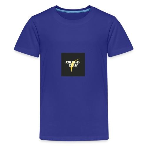 KIILGUAY - Camiseta premium adolescente