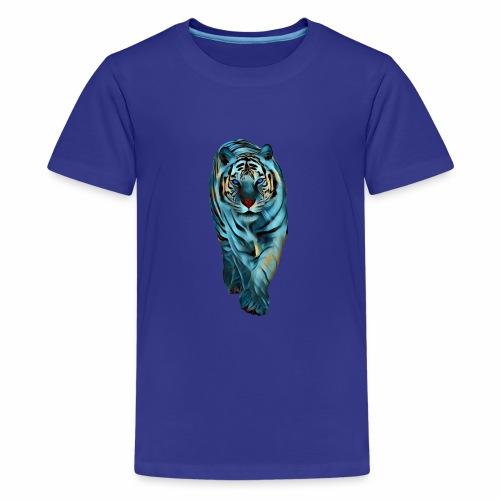 Tigre Caminando MEDIANO - Camiseta premium adolescente