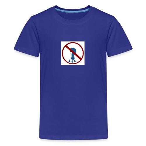 Logo SOS Mystères - T-shirt Premium Ado