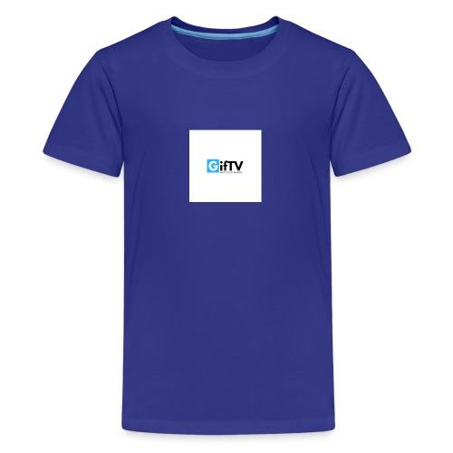 gifTV - Maglietta Premium per ragazzi