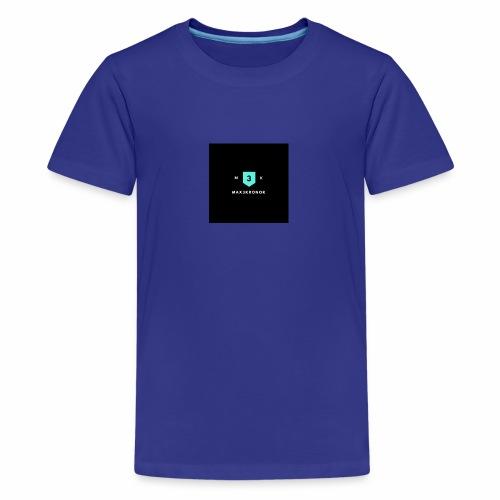 Mximus - Premium-T-shirt tonåring