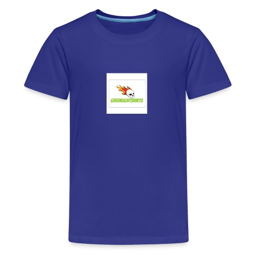 GREEN LIGHT SHIRTS LOGO - Teenage Premium T-Shirt