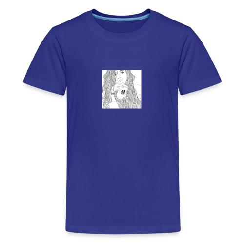 Girl - Teenager premium T-shirt