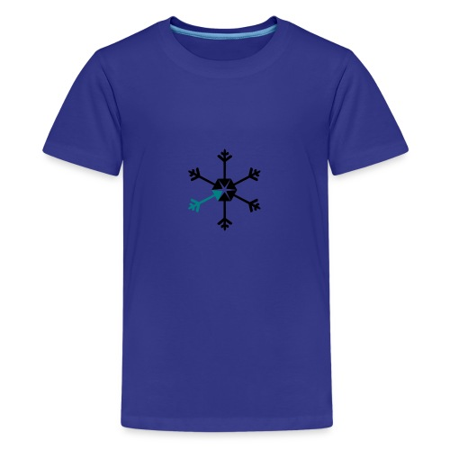 Vinterserien - Premium-T-shirt tonåring
