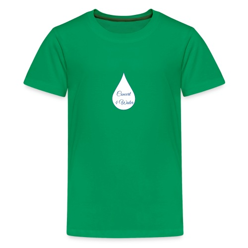 Concert 4 Water's Image Logo - Teenage Premium T-Shirt