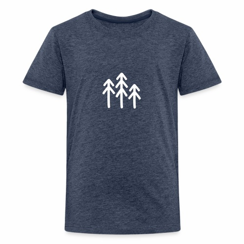 RIDE.company - just trees - Teenager Premium T-Shirt