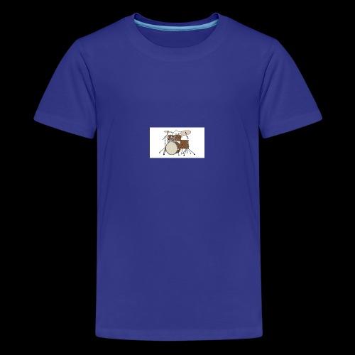 bongo cattttttttttt - Teenage Premium T-Shirt