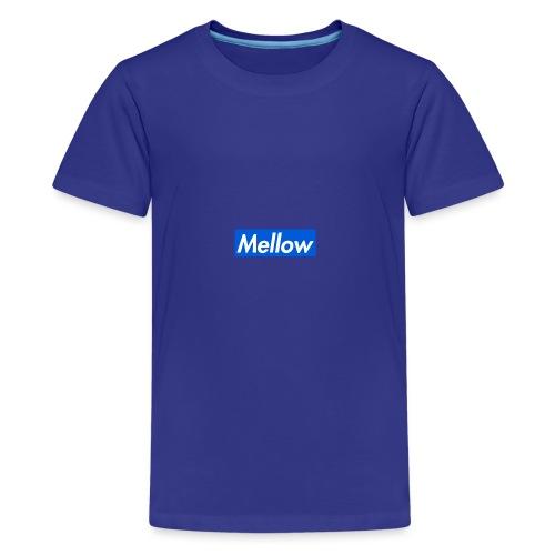 Mellow Blue - Teenage Premium T-Shirt