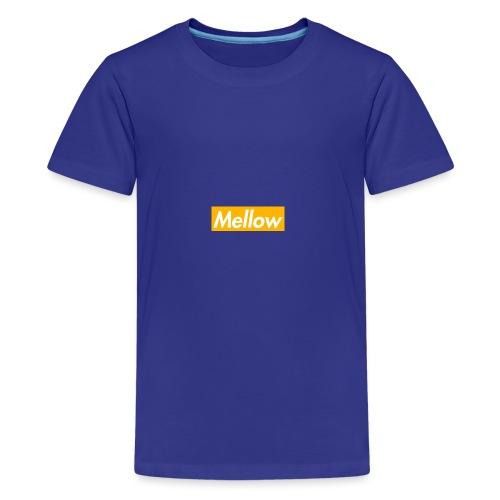 Mellow Orange - Teenage Premium T-Shirt