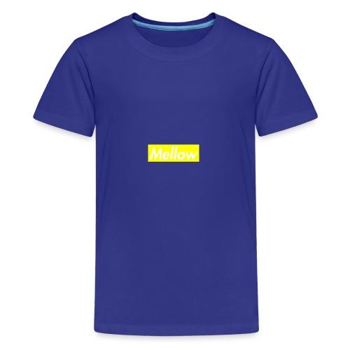 mellow Yellow - Teenage Premium T-Shirt