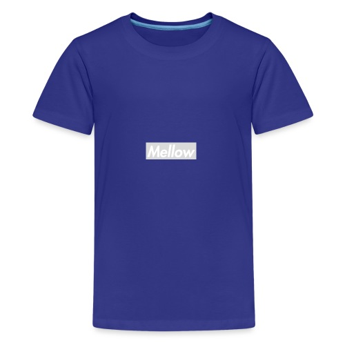 Mellow White - Teenage Premium T-Shirt