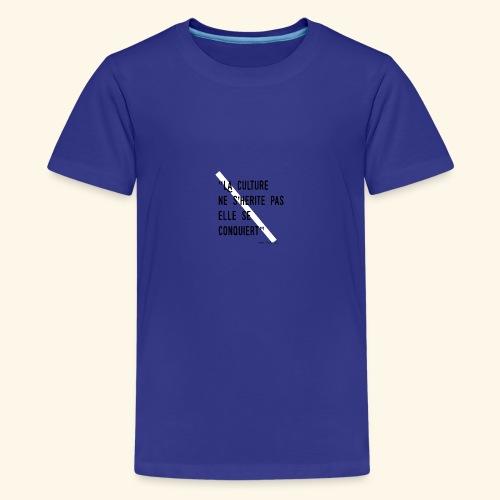 Kulture Française - T-shirt Premium Ado