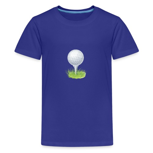 Golf Ball PNG Clipart - Camiseta premium adolescente