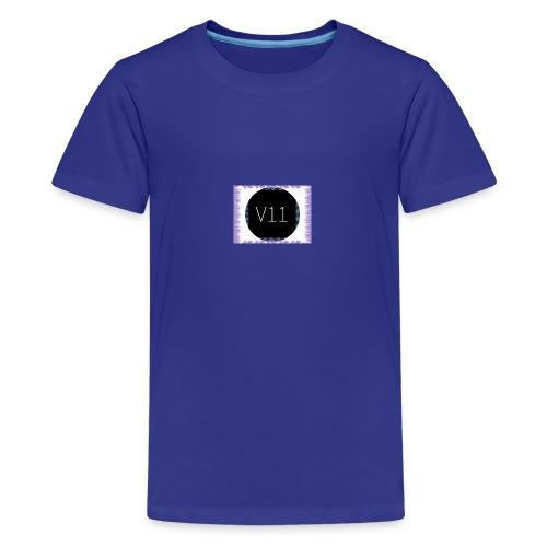V11's first clothes - Premium-T-shirt tonåring