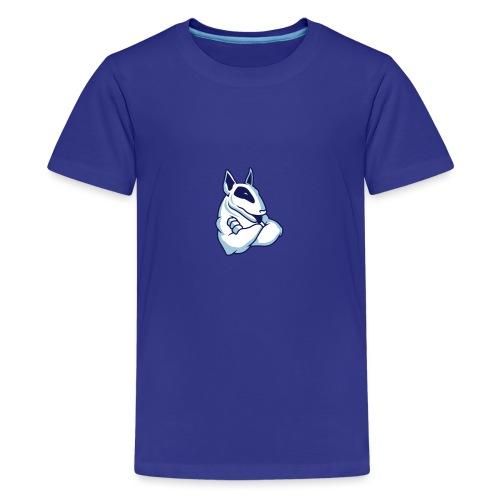 Bullterrier Maskottchen 3c - Teenager Premium T-Shirt