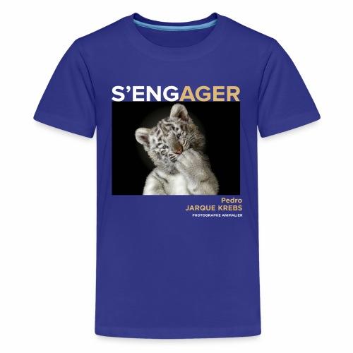 1 Achat = 1 Don à l'association Rainfer - T-shirt Premium Ado